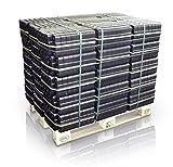 40 x 25 kg Heizprofi Kohle Braunkohle Bündel volle Palette - hoher Energiegehalt dadurch sehr hohe Wärmeabgabe
