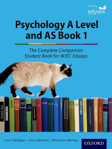 The Complete Companions for Eduqas Year 1 and AS Psychology Student Book (Psychology Complete Companion) por Cara Flanagan