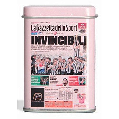 Pastiglie Leone - JUVE - INVINCIBILI - licenza esclusiva La Gazzetta dello sport