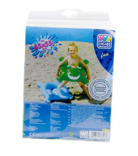 Happy People 77827 – Schwimmring Elefant und Frosch… | 00940356600908