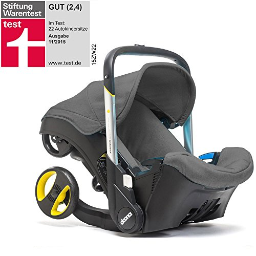 Doona Plus Ovetto & Travel System 2 in1 – Storm grigio