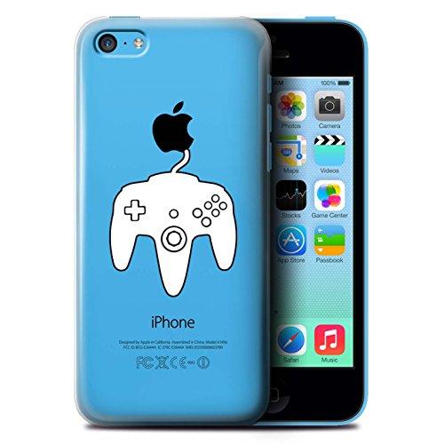 Coque de Stuff4 / Coque pour Apple iPhone 5C / Xbox One Blanc Design / Manette Jeux Vidéo Collection N64 Blanc