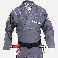 Valor Victory 2.0 Premium Lightweight BJJ GI Grey | Free Drawstring GI Bag