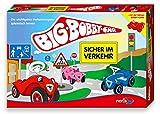 Noris Spiele 606010095 - BIG-BOBBY-CAR - Sicher im Verkehr, Kinderspiel