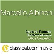 Alessandro Marcello, Oboe Concerto In D Minor