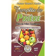 Tempête de prière : Guide de prière quotidienne: UNE PRODUCTIVITÉ MAXIMALE - AOÛT 2017 (English Edition)