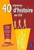 Image de 40 SEQUENCES HISTOIRE AU CE2