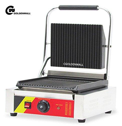 cgoldenwall np-590Commercial/Haushalt Panini Grill Elektrische Sandwich Press- und Panini Maker Sandwich Toaster Fleisch Grill - 220V