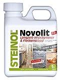 Steinol NOVOLIT Universal Langzeit Versiegelung 100% Lösemittelfrei Innen & Außen Fleckenschutz 1 Liter Stein & Holz & mehr