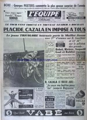 EQUIPE (L') [No 4114] du 29/06/1959