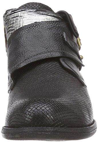 A.S.98242211 - Stivali Desert a gamba corta, senza imbottitura Donna Nero (Schwarz (Dark/Nero))