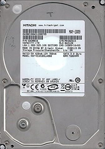 Hitachi HDT721010SLA360P/N: 0A38016MLC: BA31201TB China