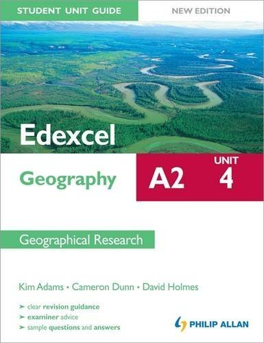 Edexcel A2 Geography Student Unit Guide New Edition: Unit 4 Contemporary Geographical Issues by Cameron Dunn (2012-02-24)