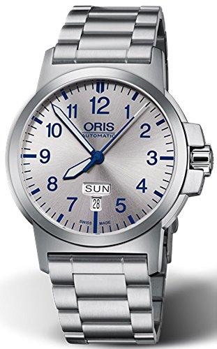 Oris Men's 42mm Steel Bracelet & Case Automatic Watch 01 735 7641 4161-MB