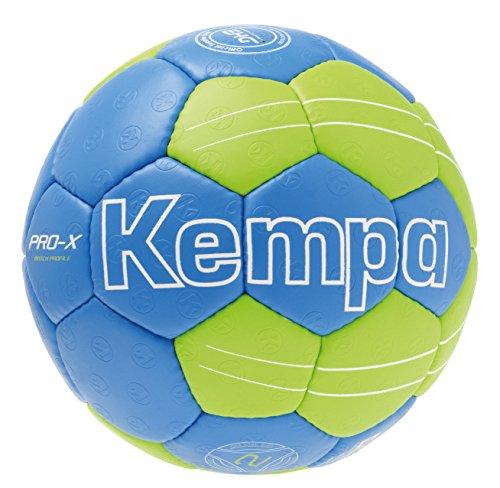 Kempa Ball PRO-X MATCH PROFILE, kempablau/fluo grün, 1, 200187401
