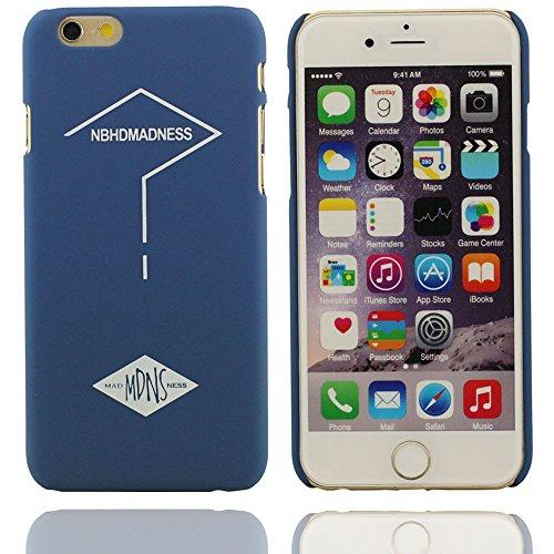 Hard Cover Custodia protettiva in plastica di disegno unico del fumetto classico MDNS modello case per Apple iPhone 6 6S 4.7 inch blu
