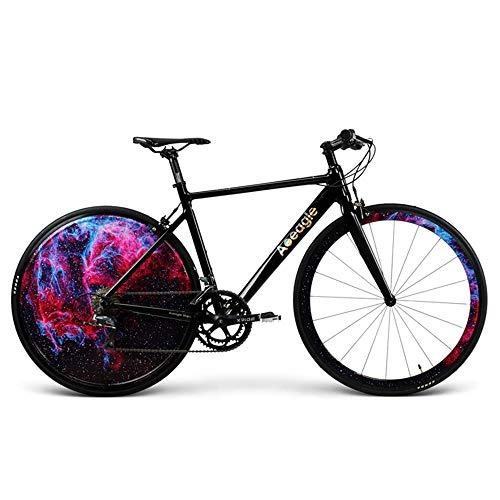 Huoduoduo Fahrrad, Rennrad, Eingebaute Wiederaufladbare Lithium-Batterie,Aluminiumlegierung Rahmen, Robuste Radabdeckung, Das Fahrzeug Wiegt Nur 9.9Kg, Auto Länge 160Cm Hoch 80Cm