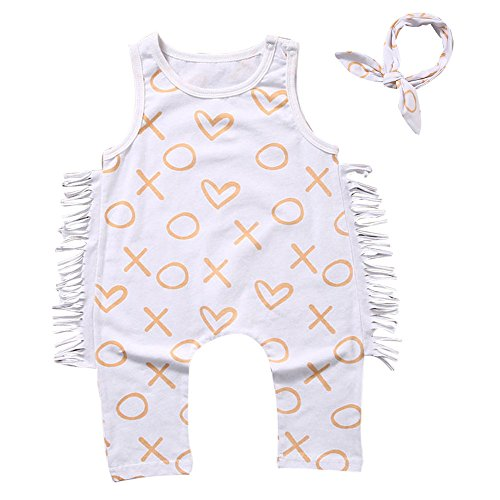 Kobay Baby Babe Bengel Drucken Hemd Overall Kleidung Outfit Babe-outfit