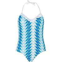 Snapper Rock Maillot de bain fille UV UPF 50+ été Mode de bain pour les enfants & les adolescents de la piscine, Fille, Badeanzug Federn