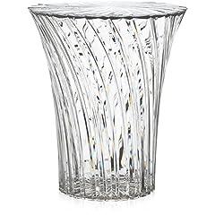 Idea Regalo - Kartell, Sgabello Sparkle, Colore: Cristallo