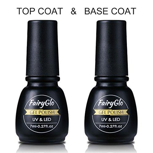Descargar PDF FairyGlo Base Top Coat UV Gel Nail Polish Starter Kit ...