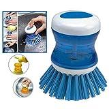 Interesting® Küche-Tools Waschschüssel Schüssel Topf Flüssigseife Pinsel Flasche Spülmittel Reiniger