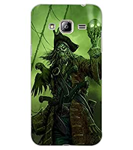 ColourCraft Devil look Design Back Case Cover for SAMSUNG GALAXY J3