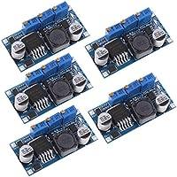 F Fityle 5 Piezas Módulo Reductor de Potencia Chip LM2596 de Alta Calidad Electrónica Oficina Papelería Videojuegos