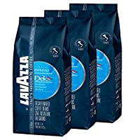 Lavazza Dek Decaffeinated Coffee Beans (3 Packs of 500g)