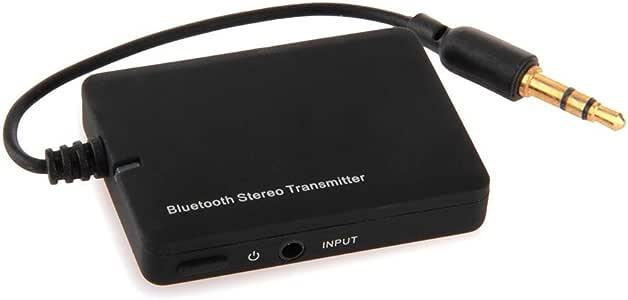 MEMTEQ Transmetteur Emetteur Adaptateur Dongle Bluetooth V2.1 A2DP Sans Fil Wireless Audio Stéréo connecté avec TV , iPod , Kindle , MP3 , Ordinateur par Câble de Sortie Audio 3.5mm