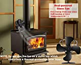 Aobosi Hitze Powered Herd Fan für Log/Kohle Brenner/Holz Stoves - 2