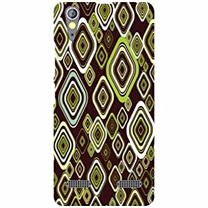 Lenovo A6000 Plus Back Cover - Squared Designer Cases