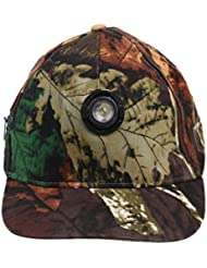 Sharplace Chapeau de Pêche Casquette Réglable 5W LED Pêcher à Jour/Nuit Attirail de Pêcheur Outdoor Accessoires