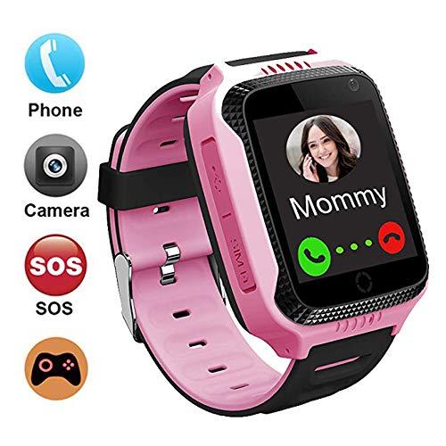 GPS localizador Reloj Inteligente para Niños Telefono, GPS Tracker Anti-pérdida para Smartwatch,...