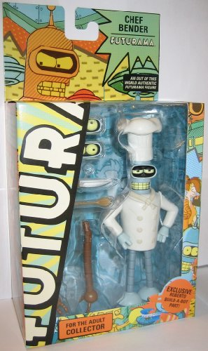 "Action Figure FUTURAMA ""Chef Bender"" Toynami, Figurines & gadgets"