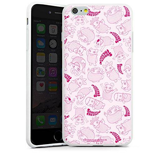 Apple iPhone X Silikon Hülle Case Schutzhülle Sorgenfresser Spielzeug Fanartikel Merchandise Silikon Case weiß
