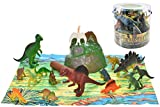Toyland 18 Jurassic Era Piece Dinosauri in Vasca Play Figures & Playmat
