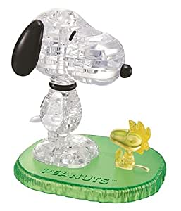Jeruel 59132 - Crystal Puzzle - Snoopy Woodstock