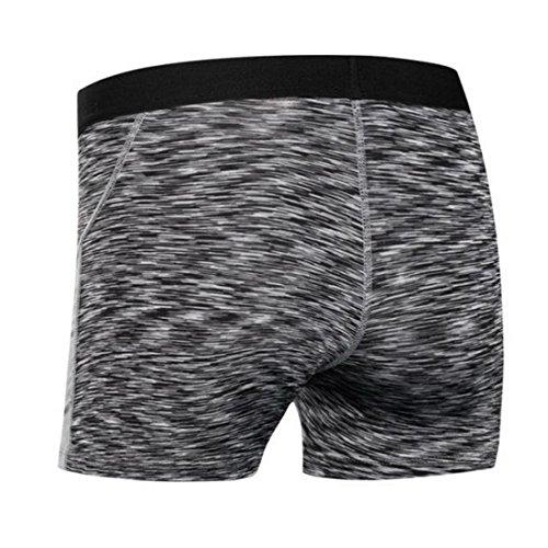 Vertvie Femme Shorts de Sport Cuissard Taille basse Ceinture Élastique pour Yoga Fitness Jogging Noir