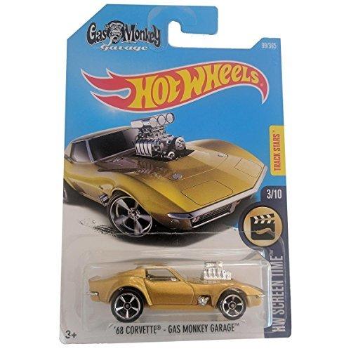 Hot Wheels \'68 Corvette - Gas Monkey Garage - HW Screen Time 99/365 on long card