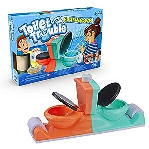 Juegos Infantiles Hasbro- Toilet Trouble Flushdown, Multicolor (E3257EU4)