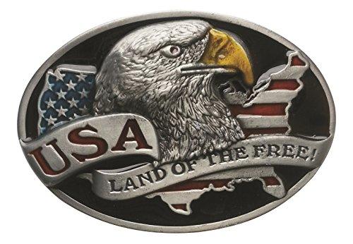 Spirit of Isis B185 Gürtel Gürtelschnalle USA Land of the free!