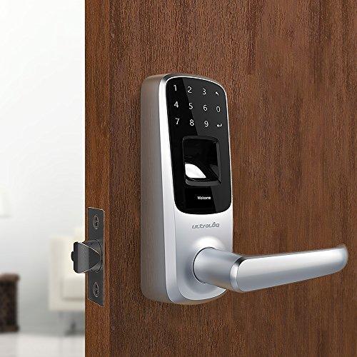 ultraloq UL3BT Bluetooth inteligente y pantalla táctil de huellas dactilares Lock
