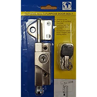 Supreme Multi-Purpose Door Bolt Satin - 8K116