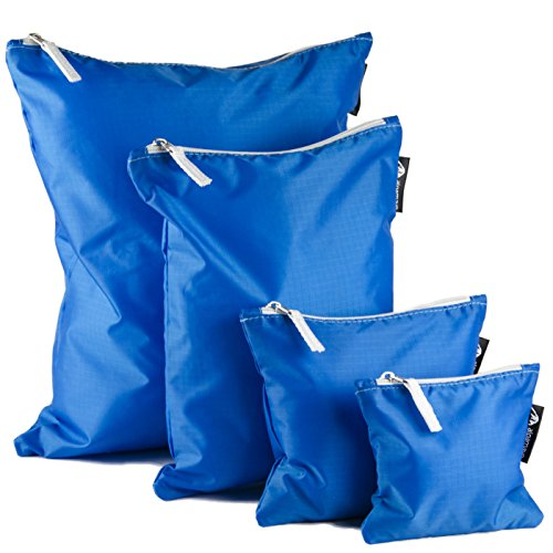 Alpamayo , Organizer per valigie blu blau