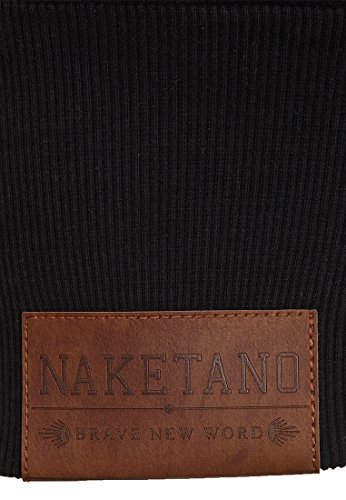 Naketano Female Hoody Ankerbraut V Black