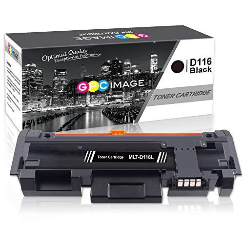 GPC Image Kompatibel Toner Patronen für Samsung D116L MLT-D116L für Samsung Xpress SL M2885FW M2825ND M2675FN M2625D M2875FD M2835DW M2875FW M2825DW M2825 M2885 M2875 M2675 M2825DW (1 Schwarz)