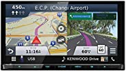 Kenwood Screen Built-in Navigation and Wi-Fi Applecarplay Android Auto, 6.8 inch, DNX9180SM