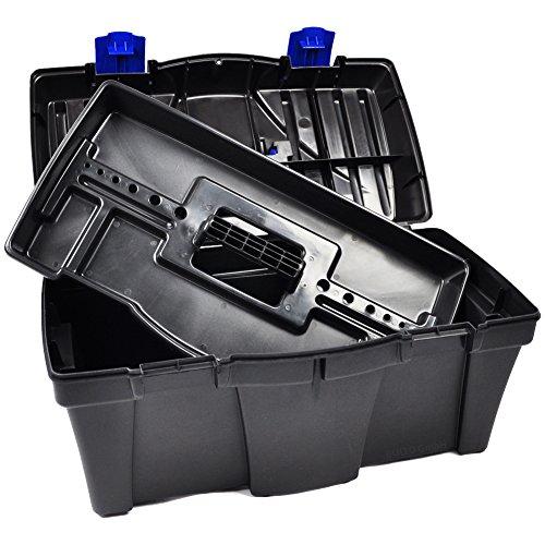 BULTO Werkzeugkoffer Werkzeugkasten 18S – schwarz/blau – 460 x 257 x 227 mm - 5