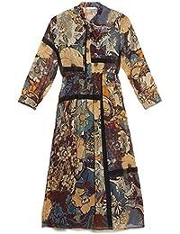 e1767a5cd15c Amazon.it  Fantasia - Lungo   Vestiti   Donna  Abbigliamento